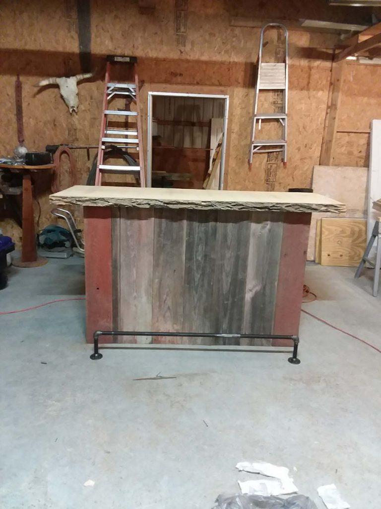 Ash Slab top buffet