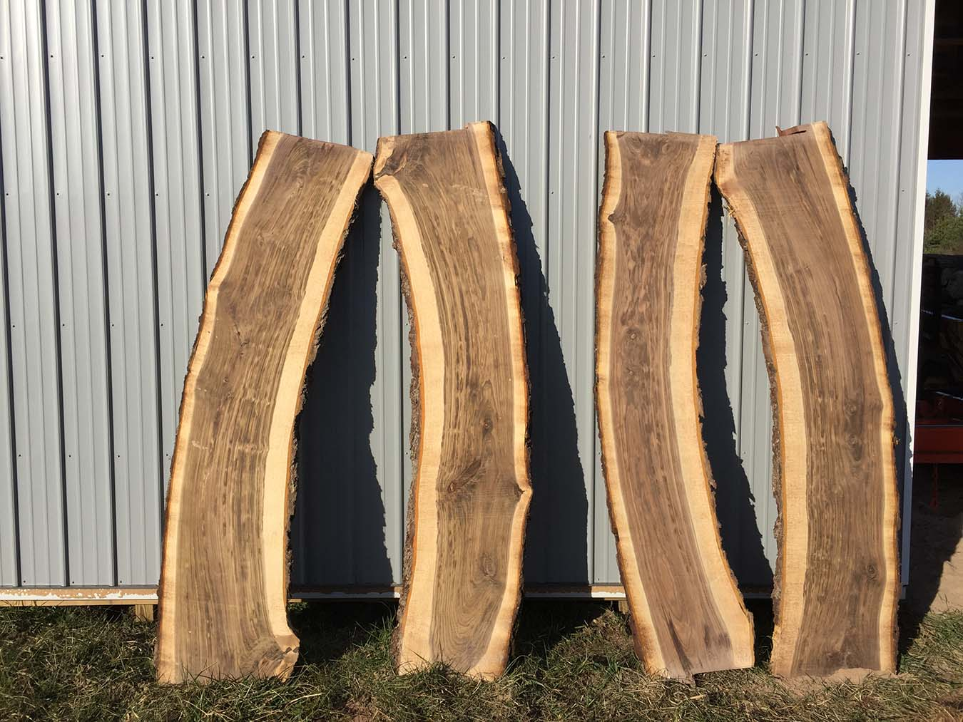 Live Edge Walnut Slabs Black Walnut Wood Slabs For Sale
