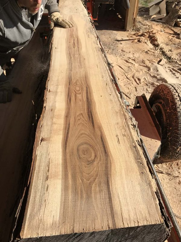 Hickory wood slabs