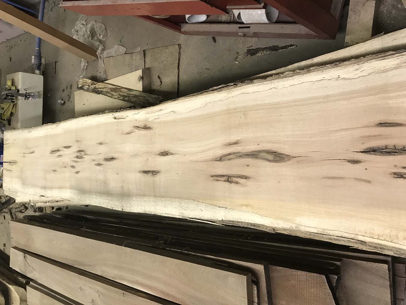 Hickory wood for sale, Hickory Slab